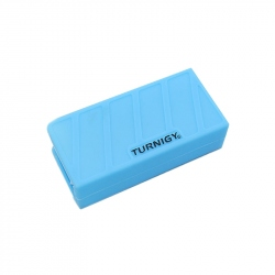 Silicon Blue Case for LIpo Battery (1000-1300mAh 3S) 74 x 36 x 21 mm