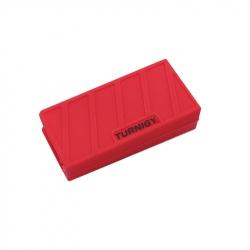 Carcasa Roşie din Silicon pentru Acumulatori LiPo (1000-1300mAh 3S) 74 x 36 x 21 mm
