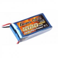 Acumulator Lipo Gens ace 1000mAh 7.4V 25C 2S1P