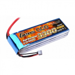 Lipo Gens ace 3300mAh 11.1V 25C 3S1P Battery