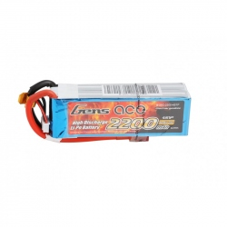Lipo Gens ace 2200mAh 14.8V 25C 4S1P Battery
