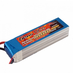 Lipo Gens ace 5000mAh 14.8V 45C 4S1P Battery