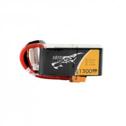 LiPo TATTU 1300mAh 14.8V 45C 4S1P Battery