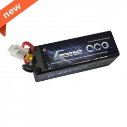 LiPo Gens ace 5800mAh 14.8V 50C 4S1P Battery with Hard Case
