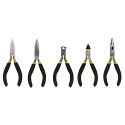 5 Velleman Mini Pliers Set