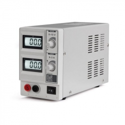 0-15V 0-3A Velleman Laboratory Source with Dual LCD Display