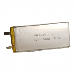 Acumulator LiPo Gens plus 1950mAh 3.7V 1C 1S1P