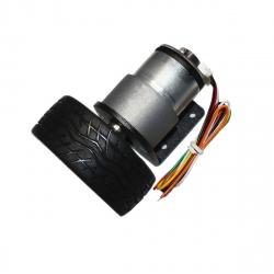 Motor cu Reductor, Codor și Roată JGB37-520 (12 V, 320 RPM)