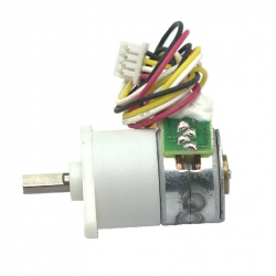 GM12-15BYC Micro Gear Stepper Motor (1:100)