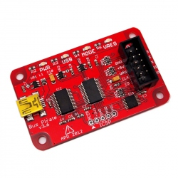 Bus Pirate v3.6 with Universal Serial Interface