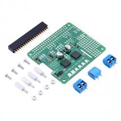 Dual MC33926 Engine Driver for Raspberry Pi (Disassembled)