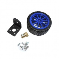 Wheel and Mounting Kit for Gearmotors