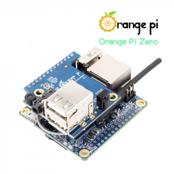 Orange Pi Zero Development Board (256 MB RAM) And Expansion Board - Pack