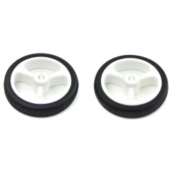 Wheel 32×7mm Pair - White