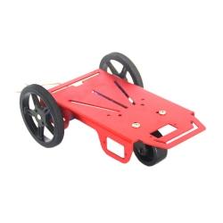 Mini Kit de Robot din Aluminiu cu Doua Motoare
