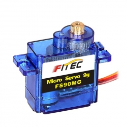 Micro Servomotor FS90MG cu Reductor Metalic