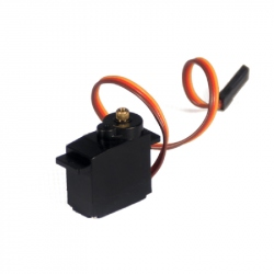 FT90MR Micro Servomotor with Continuous Rotation and Metalic Reducer