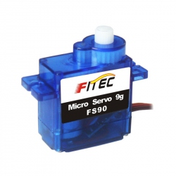 FS90 Micro Servomotor with Plastic Reducer