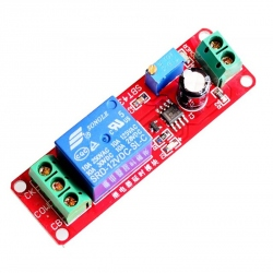 Monostable Relay Module with Adjustable Delay 12 V