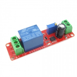 Monostable Relay Module with 5V Adjustable Delay
