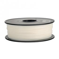 Filament Flexibil pentru Imprimanta 3D 1.75 mm 0.8 kg - Alb