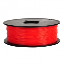 3D 1.75 mm 1 kg TPU Flexible Filament for 3D Printer - Red