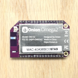 Linux and WiFi Onion Omega2 (580 MHz CPU, 64 MB DDR2) Development Board