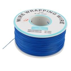 200 m Blue Wire Mini Roll 0.5 mm External Diameter x 0.25 mm Internal Diameter