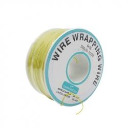 200 m Yellow Wire Mini Roll 0.5 mm external diameter x 0.25 mm internal diameter