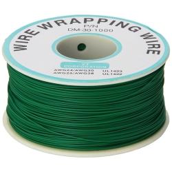 200 m Green Wire Mini Roll 0.5 mm External Diameter x 0.25 mm Internal Diameter