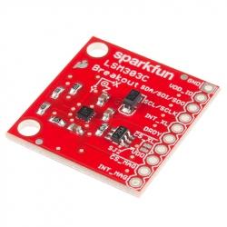Modul Sparkfun 6DOF cu Accelerometru și Magnetometru LSM303C