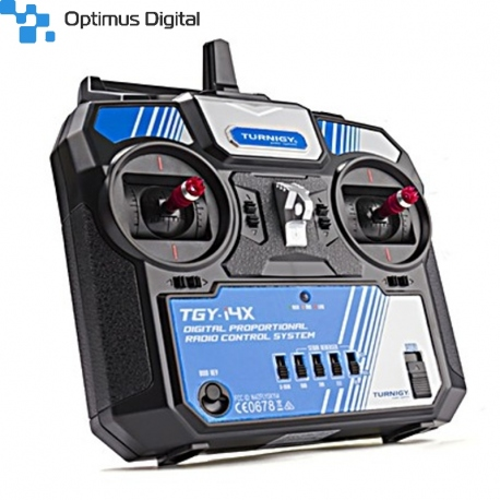 Turnigy TGY-i4X AFHDS/AFHDS 2A Switchable 4CH Transmitter/Receiver (Mode 2)