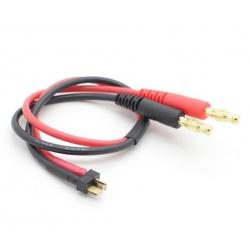Cablu Adaptor pentru Incărcare cu Mufă Mini T și Mufă Banană de 4 mm