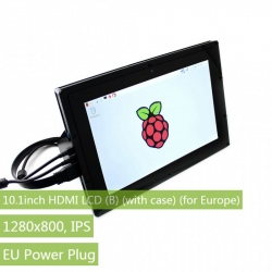 10.1'' HDMI LCD 1280×800, with case and IPS