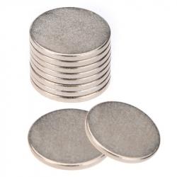 Magneți Puternici în Formă de Disc (10 bucăți / set)