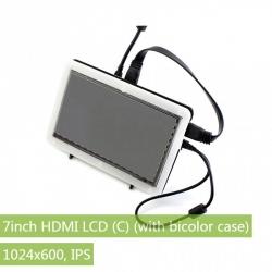 LCD (C) 7'' HDMI cu Carcasă Bicoloră