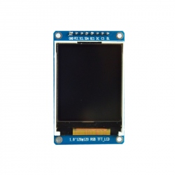 1.8'' SPI LCD Module with ST7735 Controller (128 x 160 px)