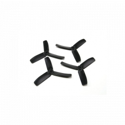 Diatone Bull Nose Polycarbonate 3-Blade Propellers 4040 (CW/CCW) (Black) (2 Pairs)