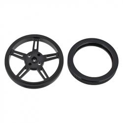 360 ° 1.3 kg * cm Micro Servomotor Wheel
