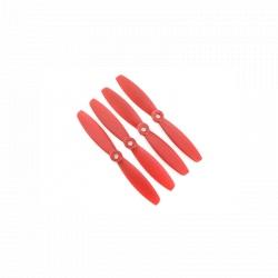 Set Două Perechi CW/CCW Elice Lumenier FPV Racing cu Două Pale 5035 - Roșu