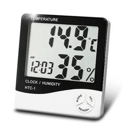 Higrometru și Termometru de Precizie pentru Interior HTC-01