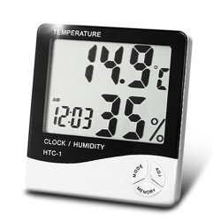 HTC-01 Indoor High Precision Hygrometer and Thermometer