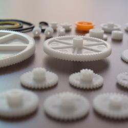 Set 34 de Roți Dințate din Plastic