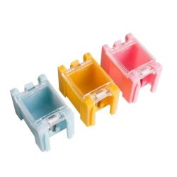 Cutie de Stocare Galbena pentru Componente Electronice 25x31.5x21.5 mm