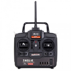 T4EU-6 2.4GHz RadioLink Remote Kit with 4 Channels and R7EH Receiver
