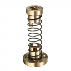 T8 Nuts and Damping Spring