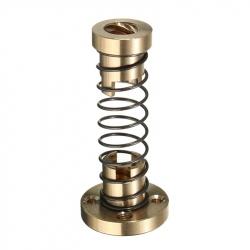 Ansamblu de Piulițe cu Diametrul de 8 mm (Pas de 2 mm) și Arc pentru Reducerea Vibrațiilor