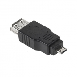 USB Female to Micro USB Male Adapter