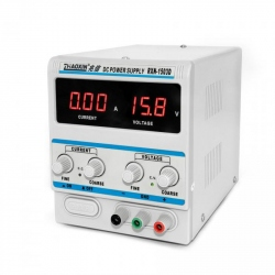 RXN-1503D Laboratory Source with Digital Display (0 - 15 V, 3 A)
