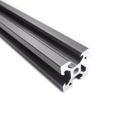 V-Slot Black Aluminium Profile 25 cm